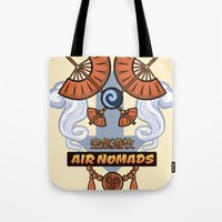 Avatar Nations Series - Air Nomads Tote Bag