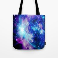 Tote Bag featuring Galaxy by 2sweet4words Designs