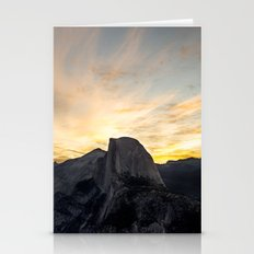Yosemite National Park - Half Dome at Sunrise Stationery Cards
