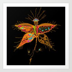 Butterfly Spirit  Art Print