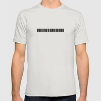 minimum Mens Fitted Tee Silver SMALL