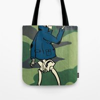 Because Black And White … Tote Bag