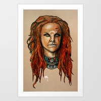 Spirit Rider  Art Print