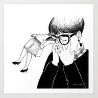 Can't Take My Eyes Off Y… Art Print