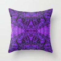 Violet Void Throw Pillow