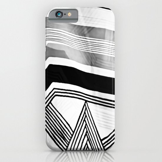 Modern Zebra Abstract iPhone & iPod Case
