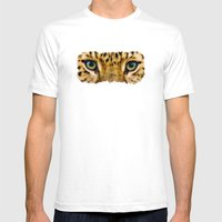 Eye Of The Tiger - Paint… Mens Fitted Tee White SMALL