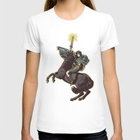 Crossing the forbidden lands Womens Fitted Tee White SMALL