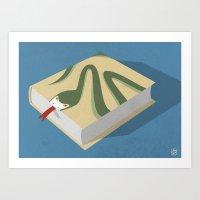 Poisoned Words Art Print