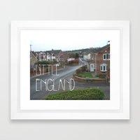 Merry Little England Framed Art Print