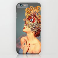 iPhone Cases featuring Freud vs Jung by Eugenia Loli
