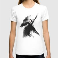 Lux Womens Fitted Tee White SMALL
