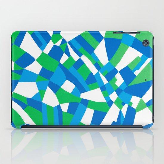 London Green iPad Case