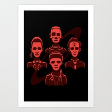 Petit Rouge Rhapsody Art Print