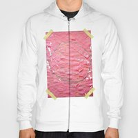Smile on a pink toilet paper Hoody