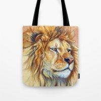 Lion 851 Tote Bag