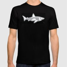 Shark X-Ray Mens Fitted Tee SMALL Black