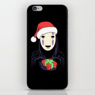 Kaonashi's Trap! iPhone & iPod Skin