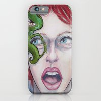 iPhone & iPod Case featuring On Her Mind by Grant Yuhre