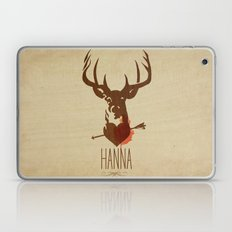 HANNA film tribute poster Laptop & iPad Skin