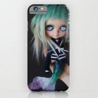 LITTLE MARINERITA SIREN (Ooak BLYTHE Doll) iPhone 6 Slim Case