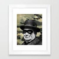 Churchill Framed Art Print