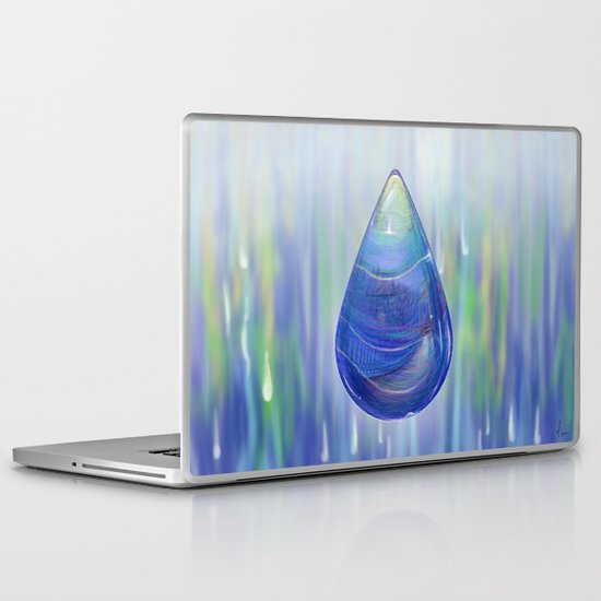 Drip Drop - Painting Laptop & iPad Skin
