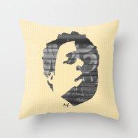 Dynamik Face Throw Pillow