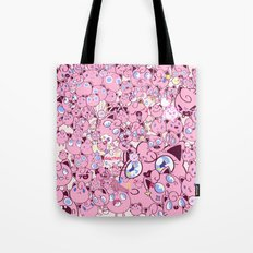 SO MANY PINK PUFFS Tote Bag