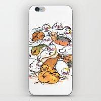 Seal family iPhone & iPod Skin