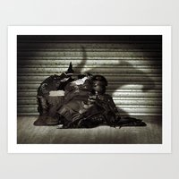 RAT SHOP Art Print