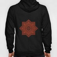 The Red Moroccan Pattern Hoody