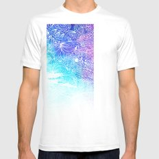 Sunny Cases XVIII White Mens Fitted Tee SMALL