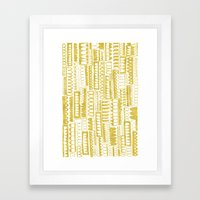 Golden Doodle humpy Framed Art Print