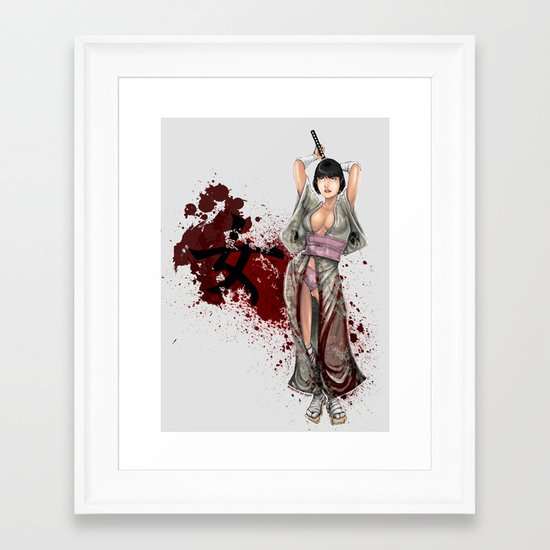 Kunoichi 1 of 4 Framed Art Print