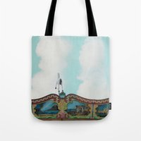 The Flying Horse Tote Bag