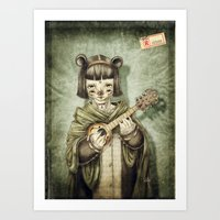 Girl II Art Print