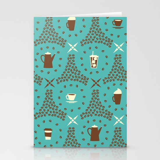 Coffee Hour Stationery Card