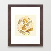 Things Squirrels Probabl… Framed Art Print