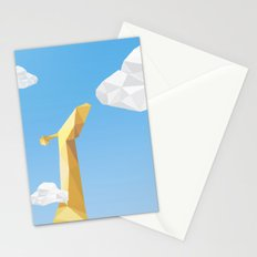Into the cloud Stationery Cards
