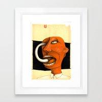 hypochondriac... Framed Art Print