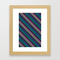 Pixel Stack no.2 Framed Art Print