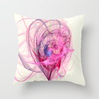 Spinning Top Nebula  Throw Pillow