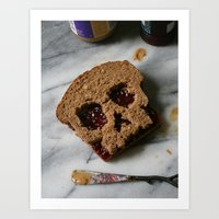 88. Peanut Butter And Sk… Art Print