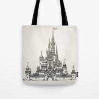 Castle Of Dreams S/w Tote Bag