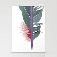 Feather #8 Stationery Cards