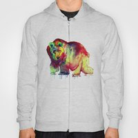 Coloured Bear Hoody