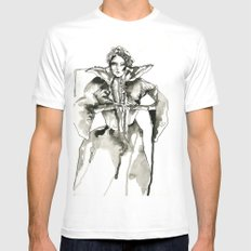 Your Majesty Mens Fitted Tee SMALL White