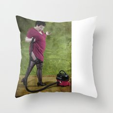 Henry, you naugthy boy Throw Pillow