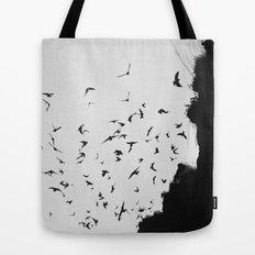Black November Tote Bag